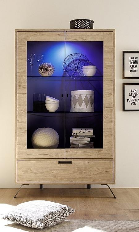 Vetrina moderna credenza a due ante, mobile soggiorno di design Giro ...