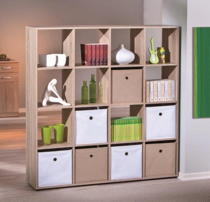 libreria moderna nina divisorio soggiorno rovere mobile