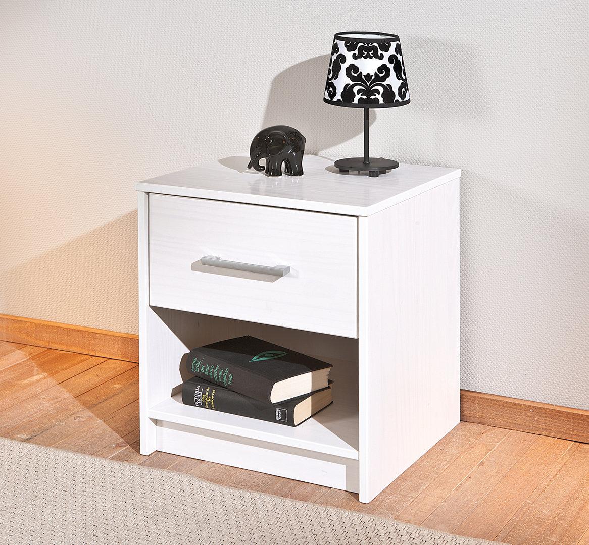 Comodino moderno gimbo mobile camera da letto comodino bianco - Mobile tv camera da letto ...