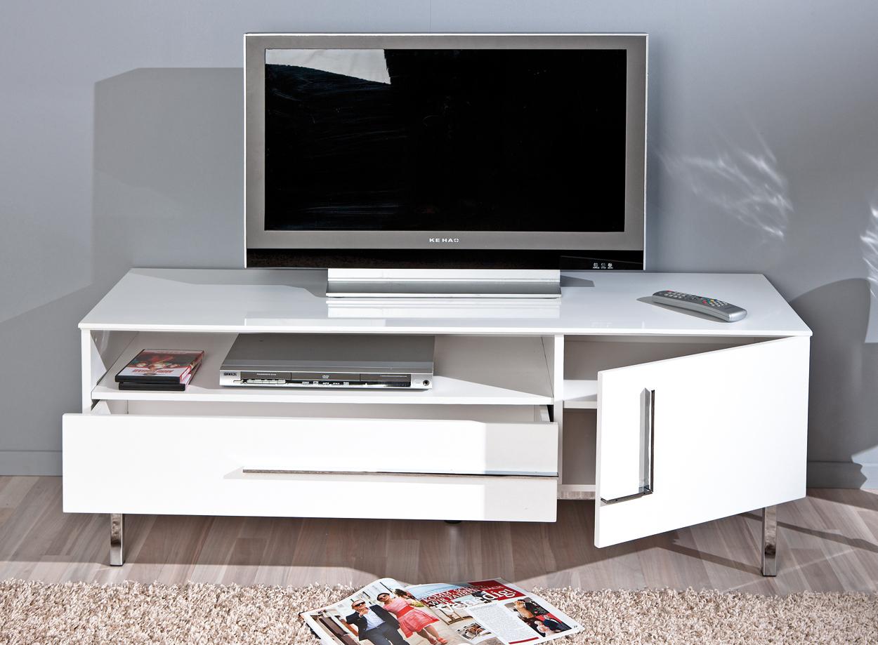 Porta tv moderno jole 23 mobile tv bianco soggiorno di design - Mobile porta tv bianco ikea ...
