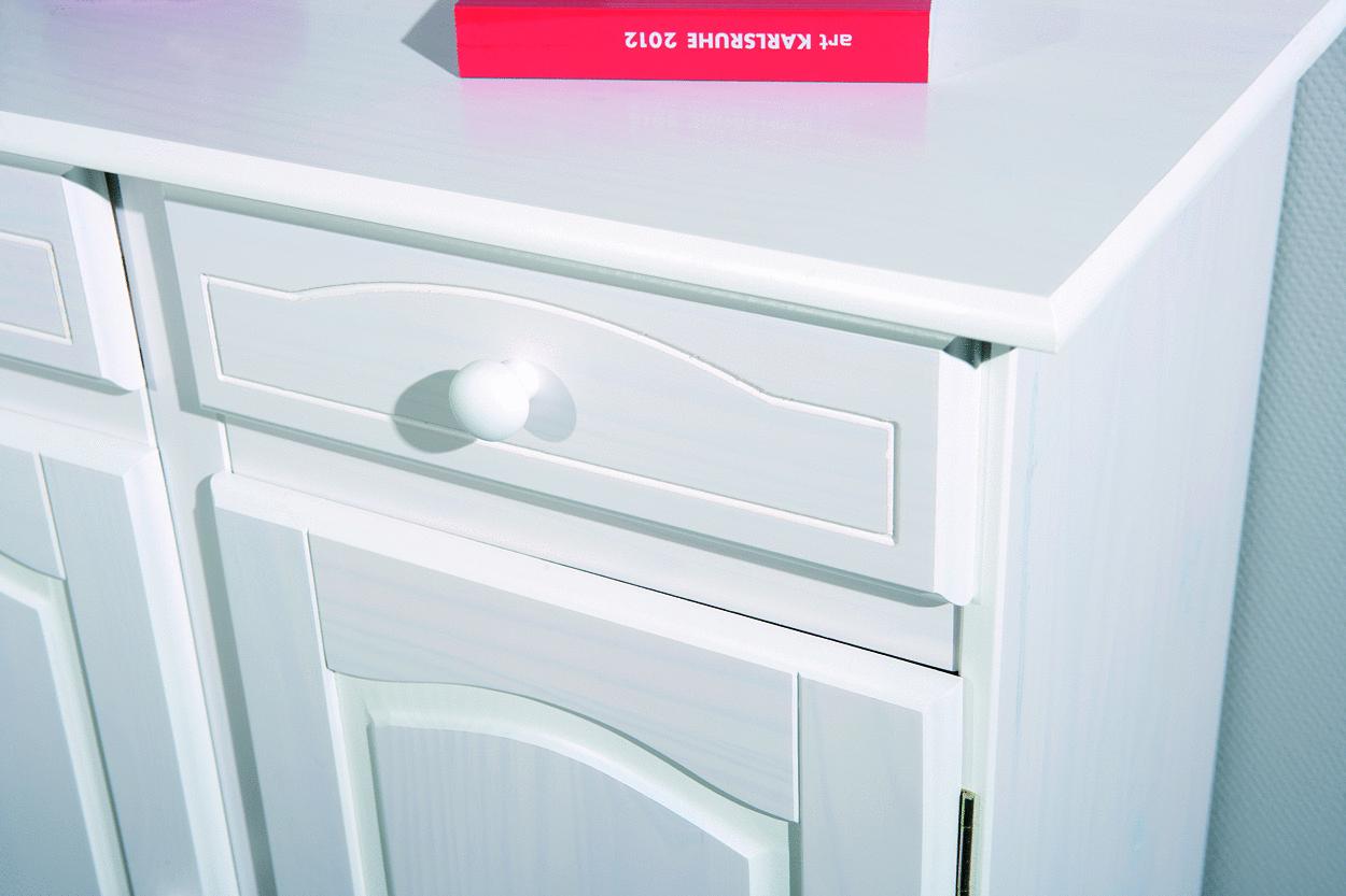 Credenza Ingresso Moderna : Credenza fiona bianca mobile soggiorno ingresso moderno in legno