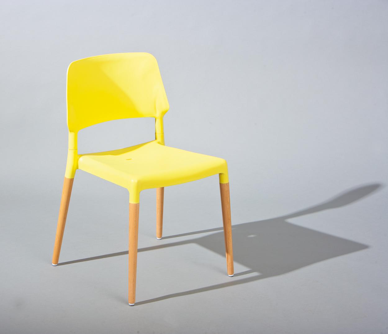 Set di 4 sedie Colour, sedia moderna colorata, sedie ...