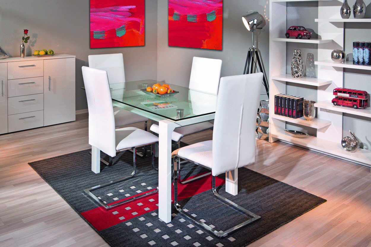 Sedia moderna nancy sedie per ufficio tavolo da pranzo - Piantana per tavolo da pranzo ...