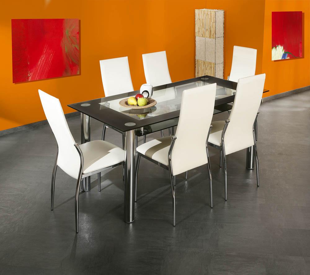 Glass Tavolo Moderno In Vetro Tavolo In Due Modelli Per Cucina