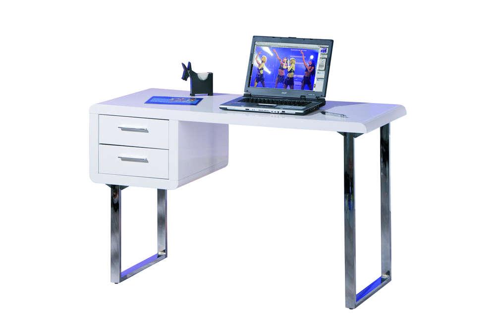 Scrivania Ufficio Bianco Lucido : Mobile ufficio soggiorno di design scrivania bianca simona