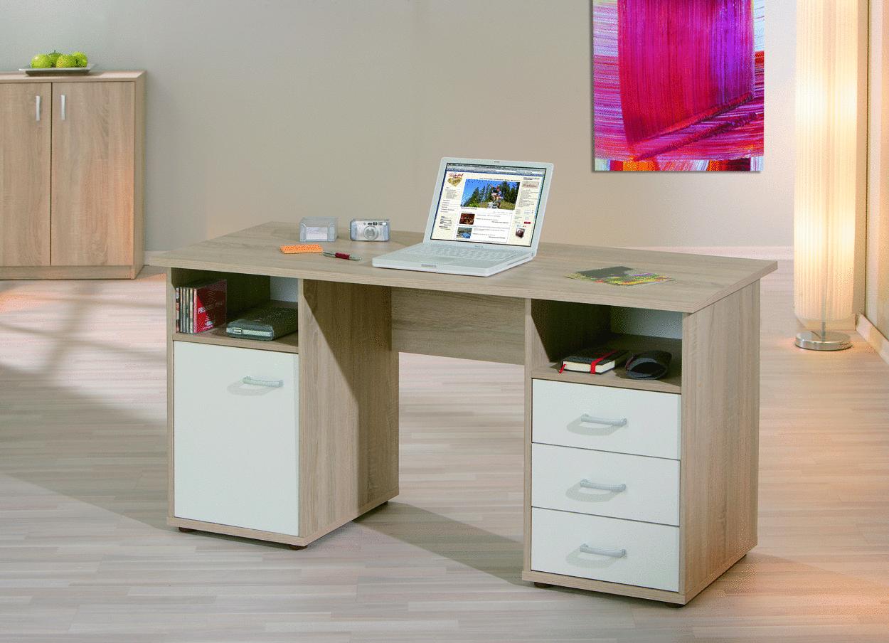Desky scrivania moderna in tre colori mobile ufficio studio - Camera ragazzi moderna ...