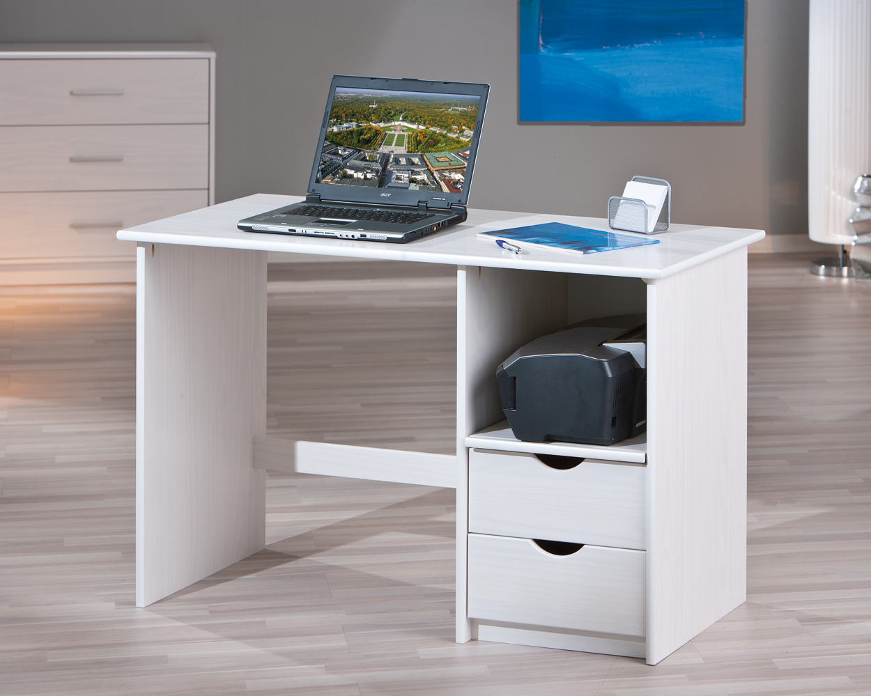 Scrivania moderna turen porta computer per ufficio studio