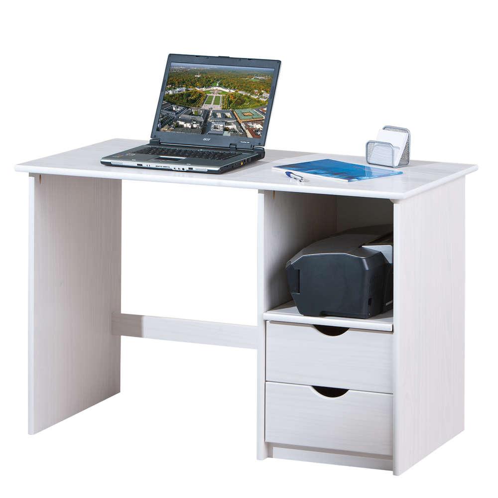 Scrivania moderna Turen, porta computer, per ufficio, studio