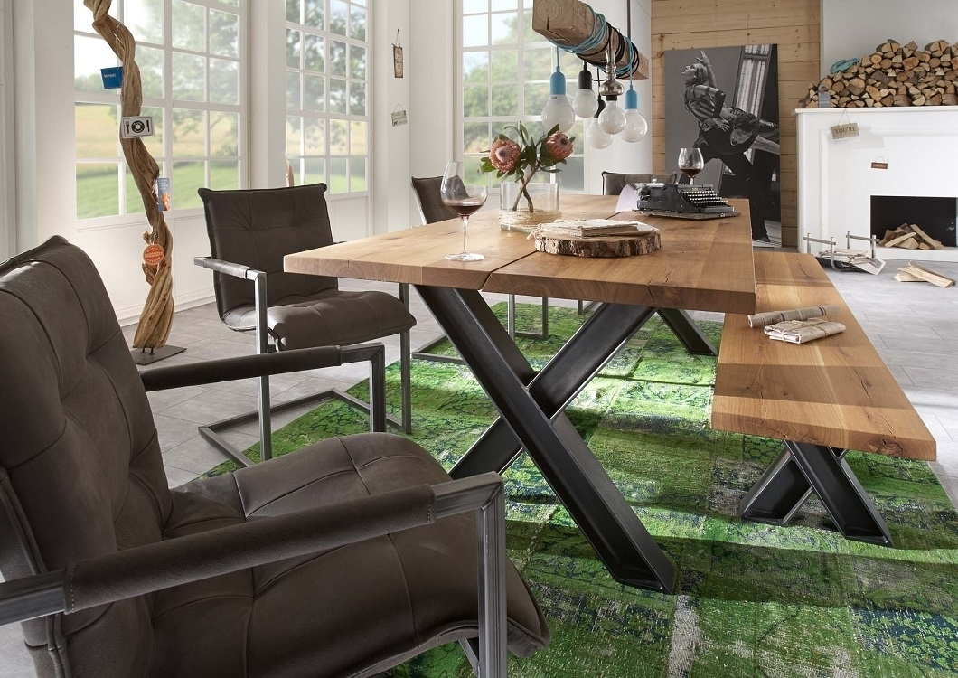 Tavoli Sala Da Pranzo In Legno : Tavolo da pranzo gold in legno massiccio mobile moderno sala
