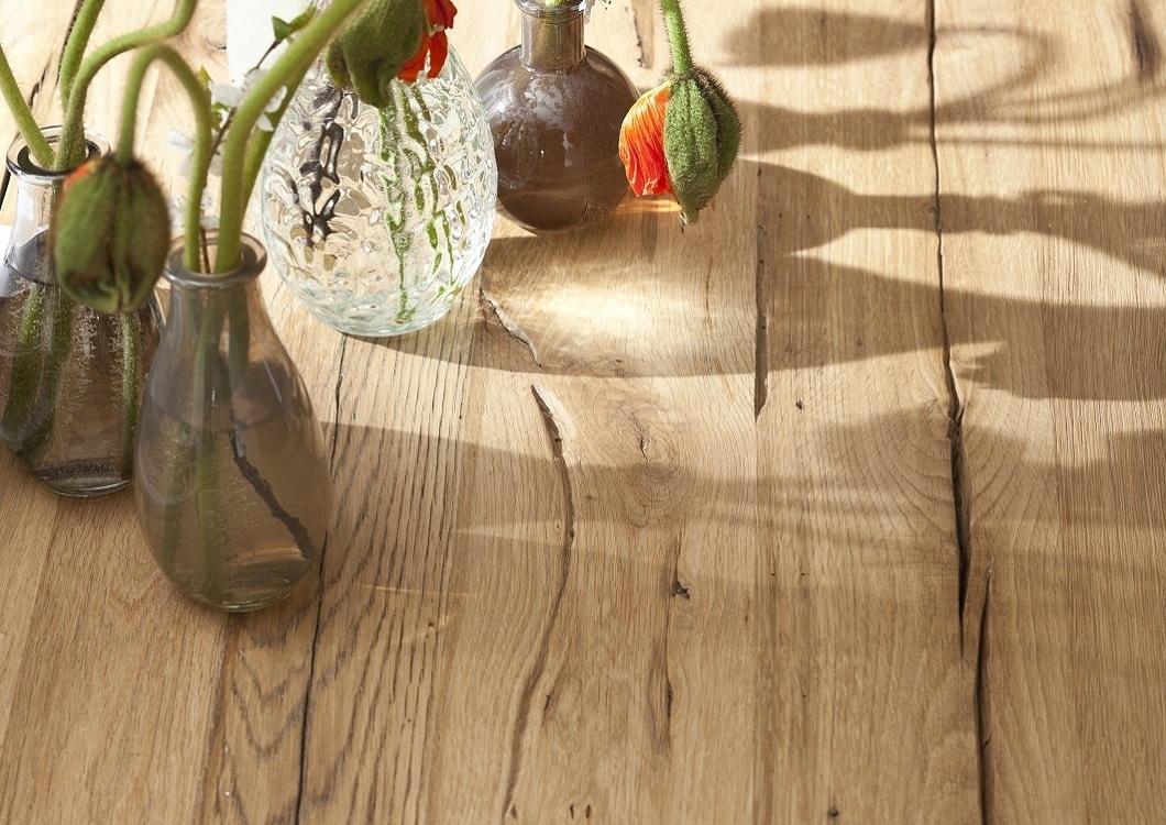 Tavoli Da Pranzo In Legno Riciclato : Tavolo da pranzo massiccio nature in legno di rovere riciclato