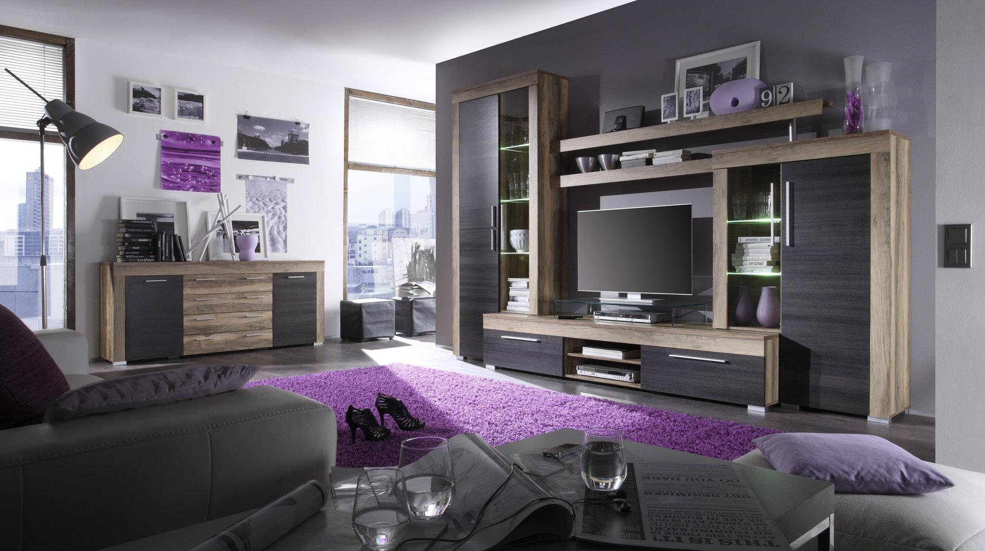 Credenza Moderna Salotto : Madia moderna friend mobile soggiorno in 3 colori credenza