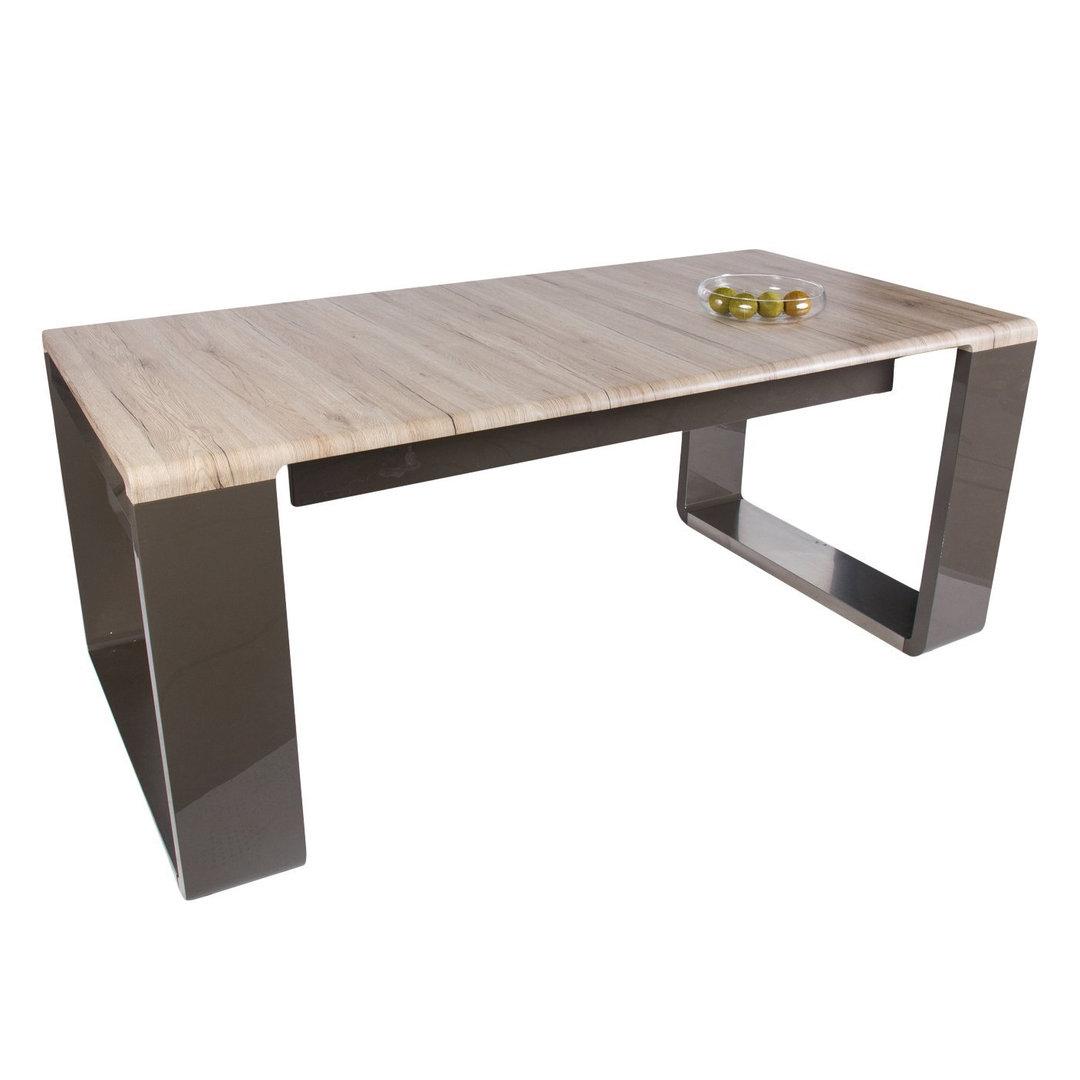 Tavolo modello amy cm 143 180 x90x76 piano rovere sabbia for Gambe tavoli design