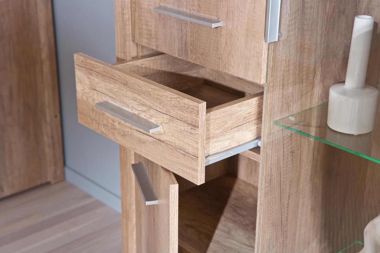 Credenza Moderna Con Vetrina : Credenza moderna letizia vetrina con led mobile soggiorno