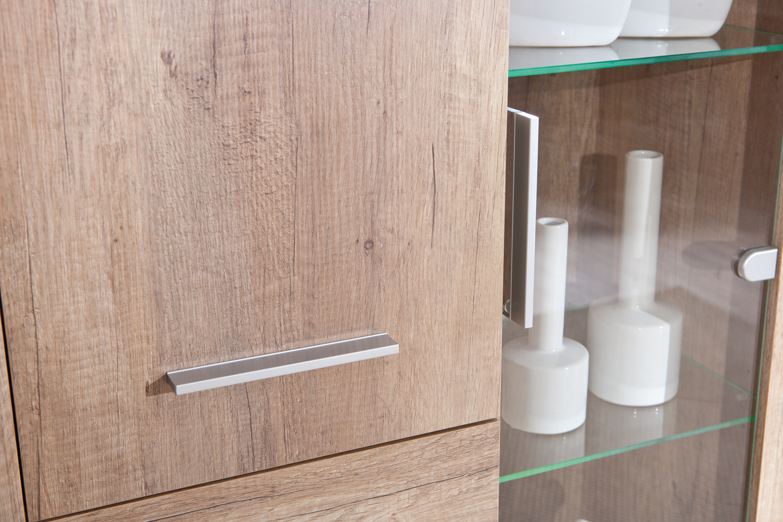 Credenza Con Vetrinetta Moderna : Credenza moderna letizia vetrina con led mobile soggiorno