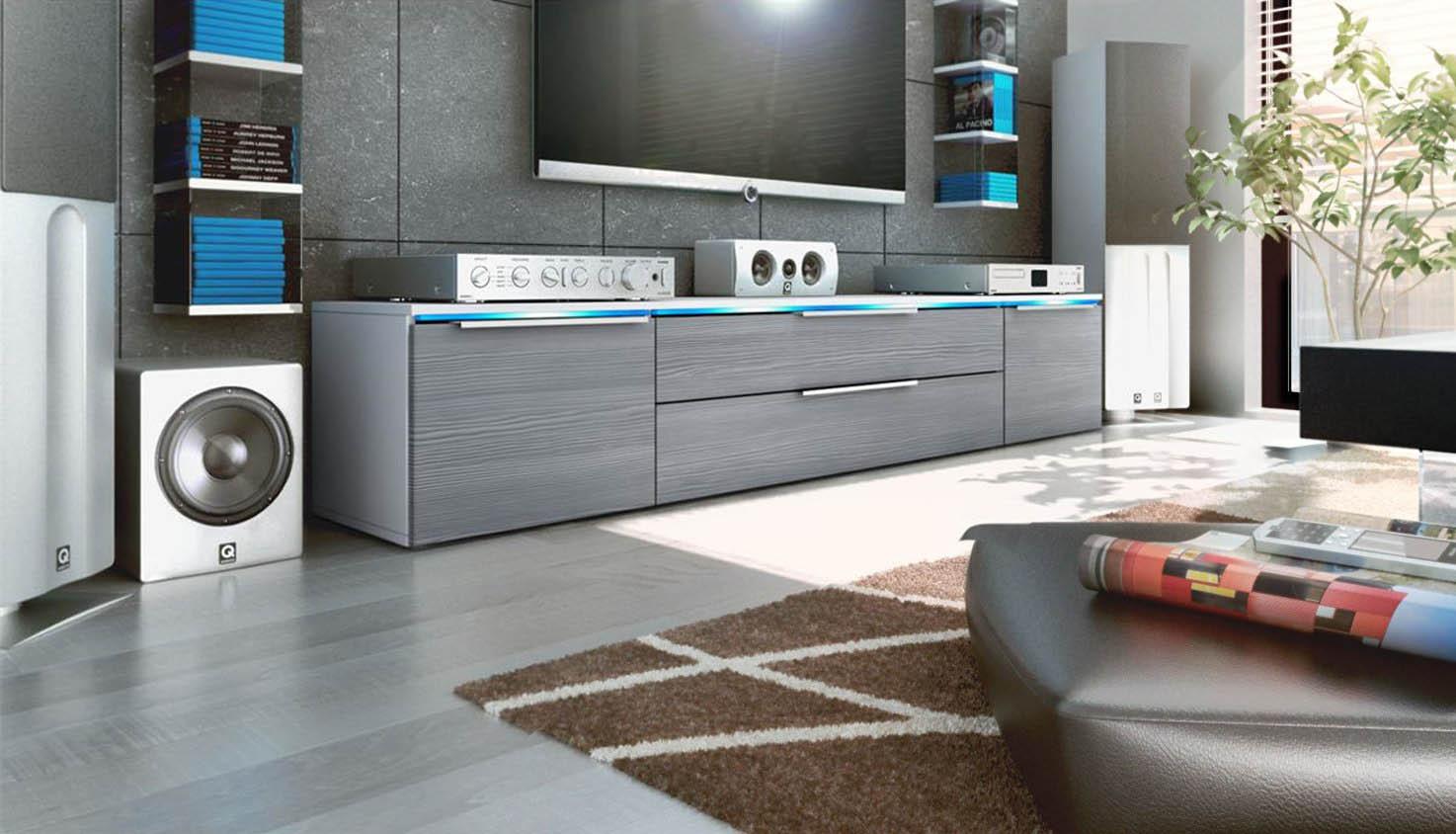 Vienna mobile porta tv soggiorno e sala in 13 colori - Soggiorno porta tv ...