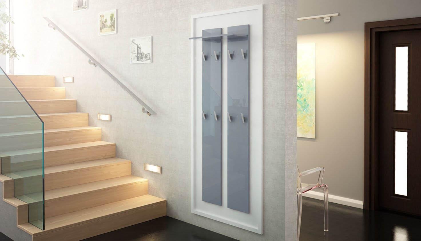 Pannello appendiabiti sedici mobile per ingresso e corridoio for Colori mobili moderni