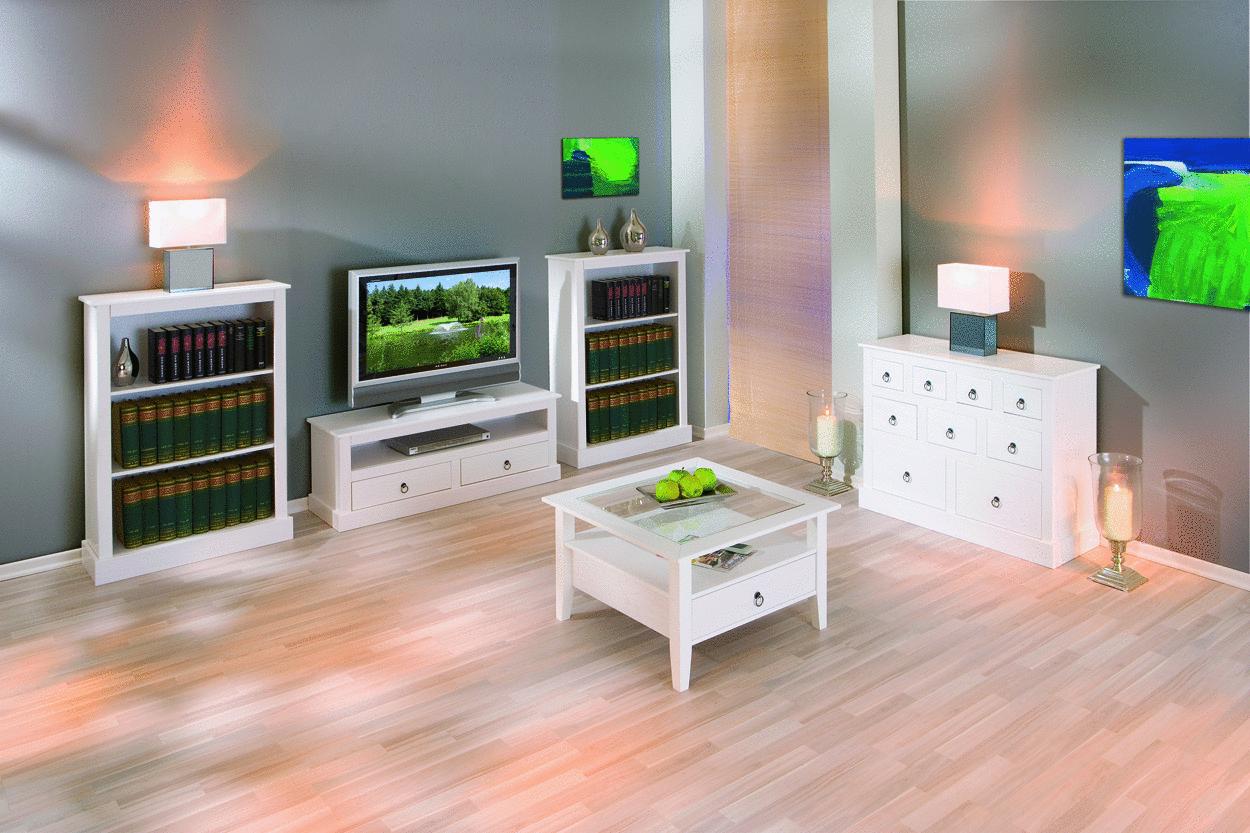 Libreria classica Aurora,mobile stile provenzale bianco,soggiorno