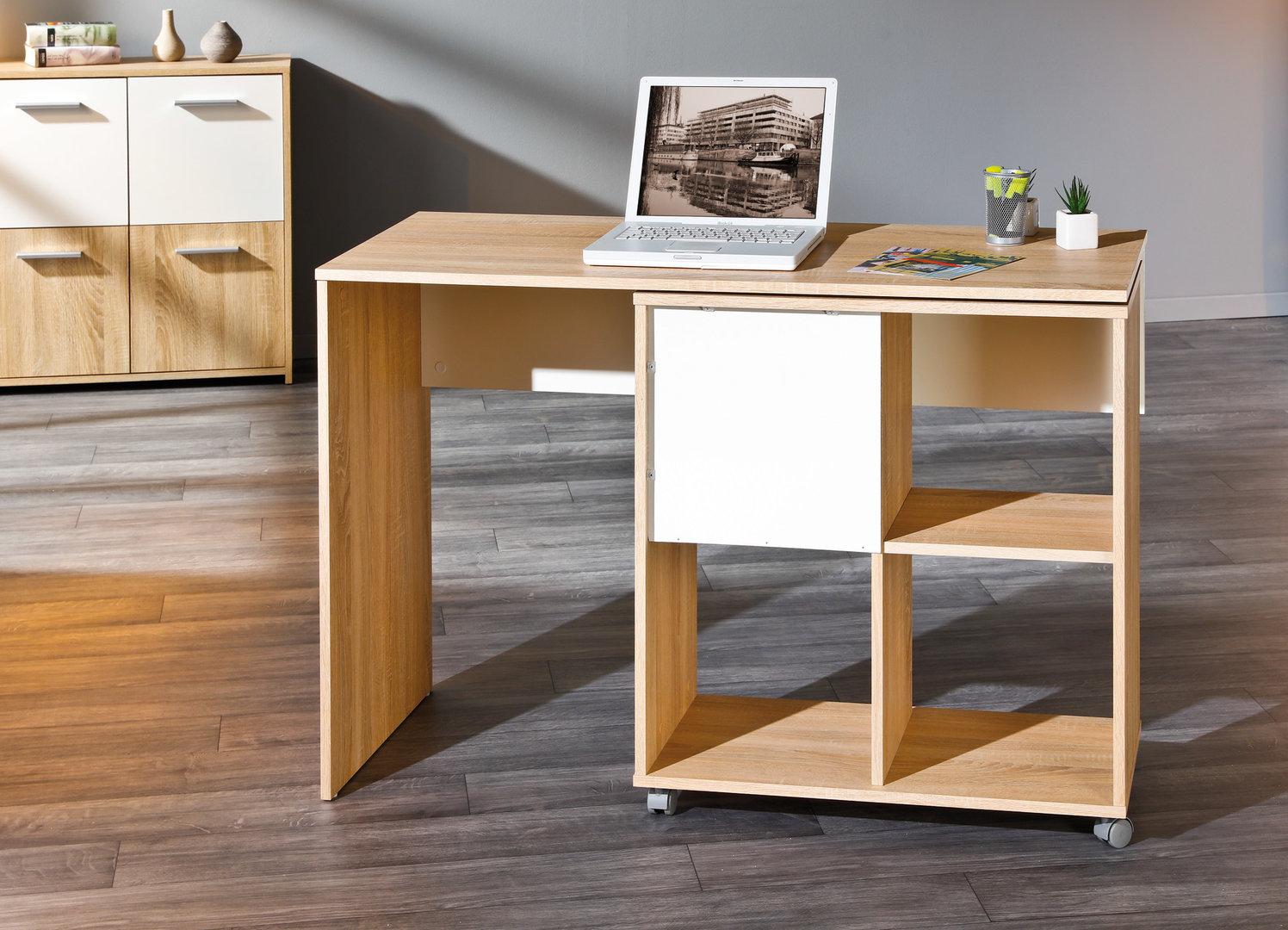 Scrivania moderna jey mobile girevole per studio ufficio for Scrivania per soggiorno