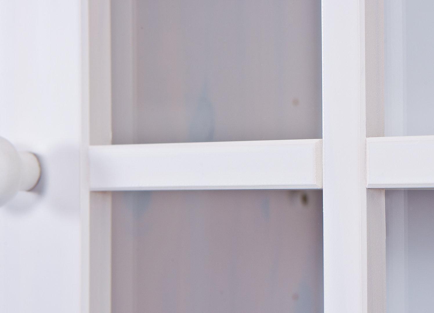 Credenza Perugia : Credenza classica perugia mobile vetrine bianco vetrina legno