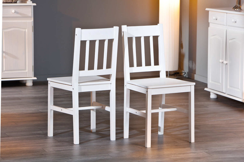 Due sedie diva 67 sedia bianca moderna in legno mobile - Sedie in legno design ...