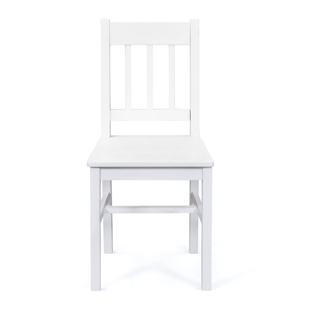 Due sedie Diva 67, sedia bianca moderna in legno, mobile ...