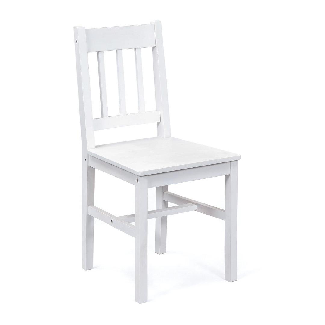 Due sedie diva 67 sedia bianca moderna in legno mobile for Sedie legno cucina