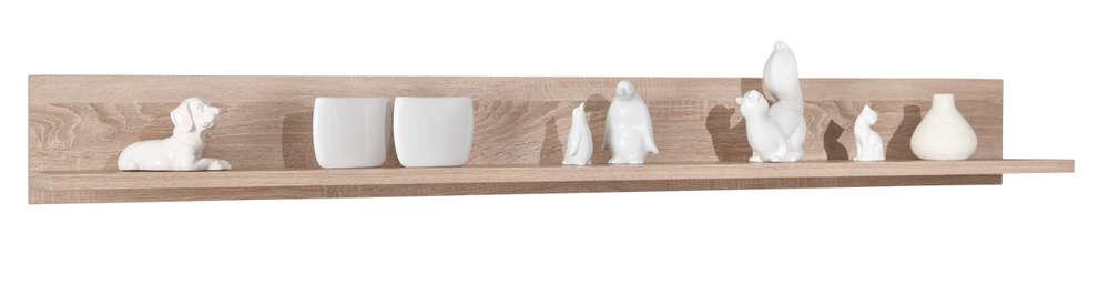 Mensola moderna Letizia M, mobile soggiorno, scaffale, libreria