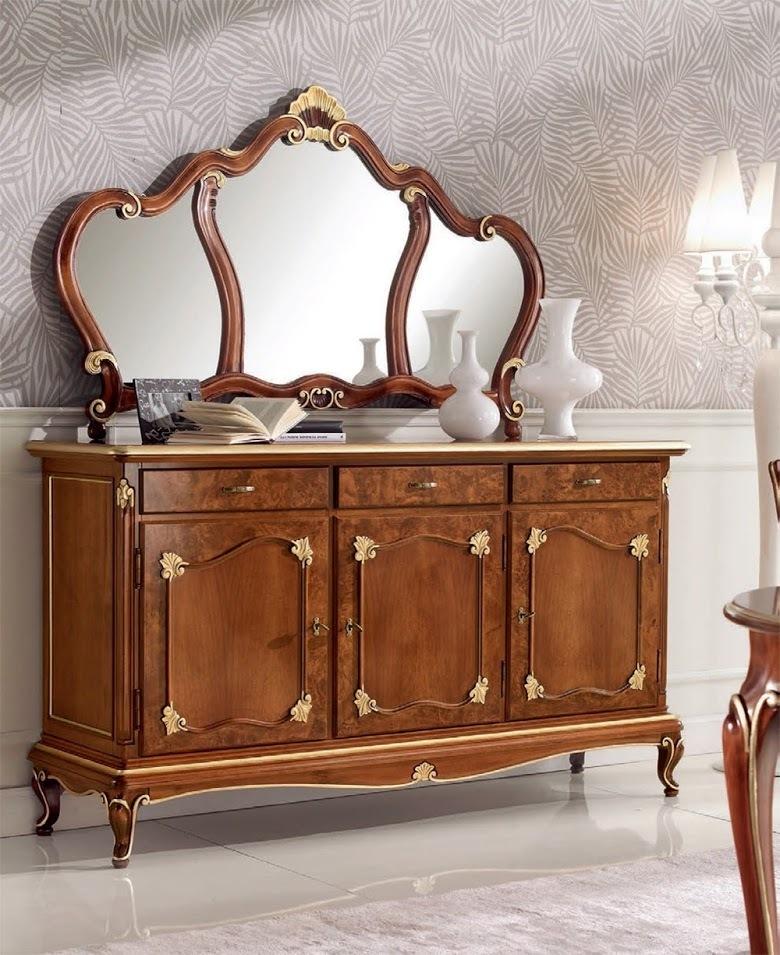 Credenza art dec tre porte credenze mobili - Deco mobili store ...