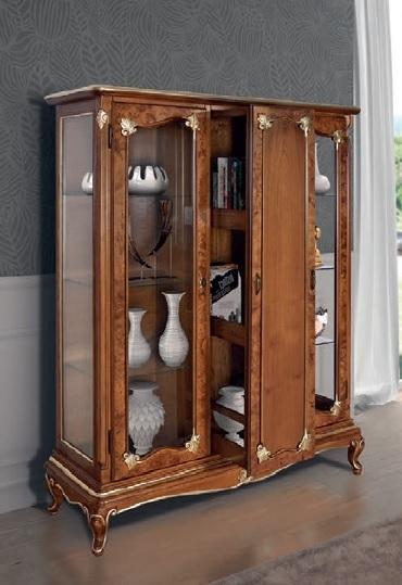 Vetrina bar Art Decò, vetrinetta in stile classico, mobili