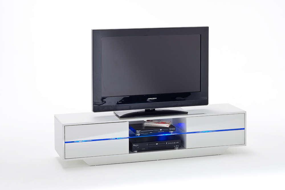Porta tv moderno press mobile soggiorno bianco capiente