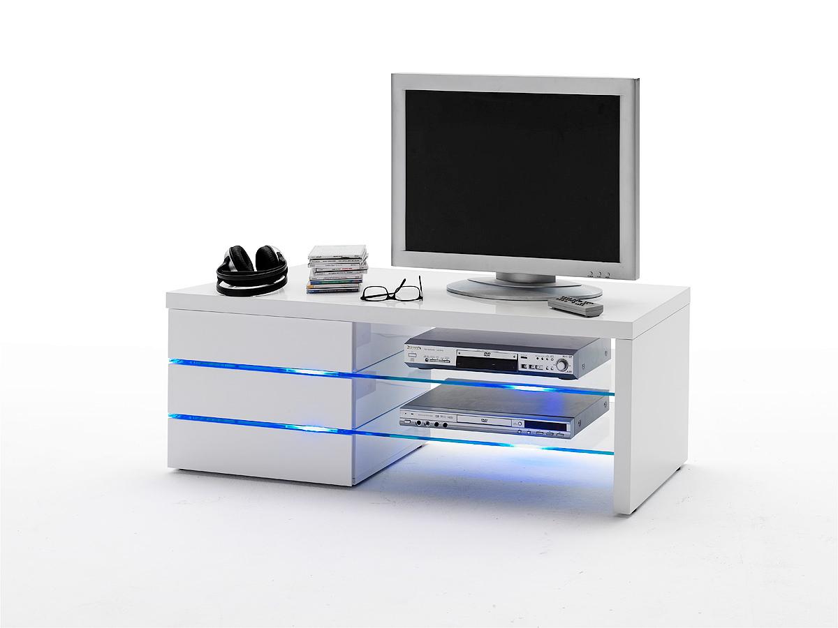 Porta tv bianco con led madrid mobile soggiorno moderno for B b soggiorno madrid