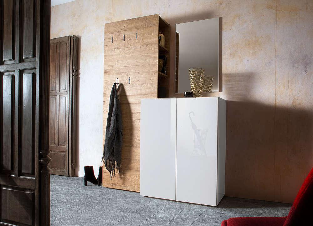 Entrata moderna malva mobili ingresso corridoio appendiabiti