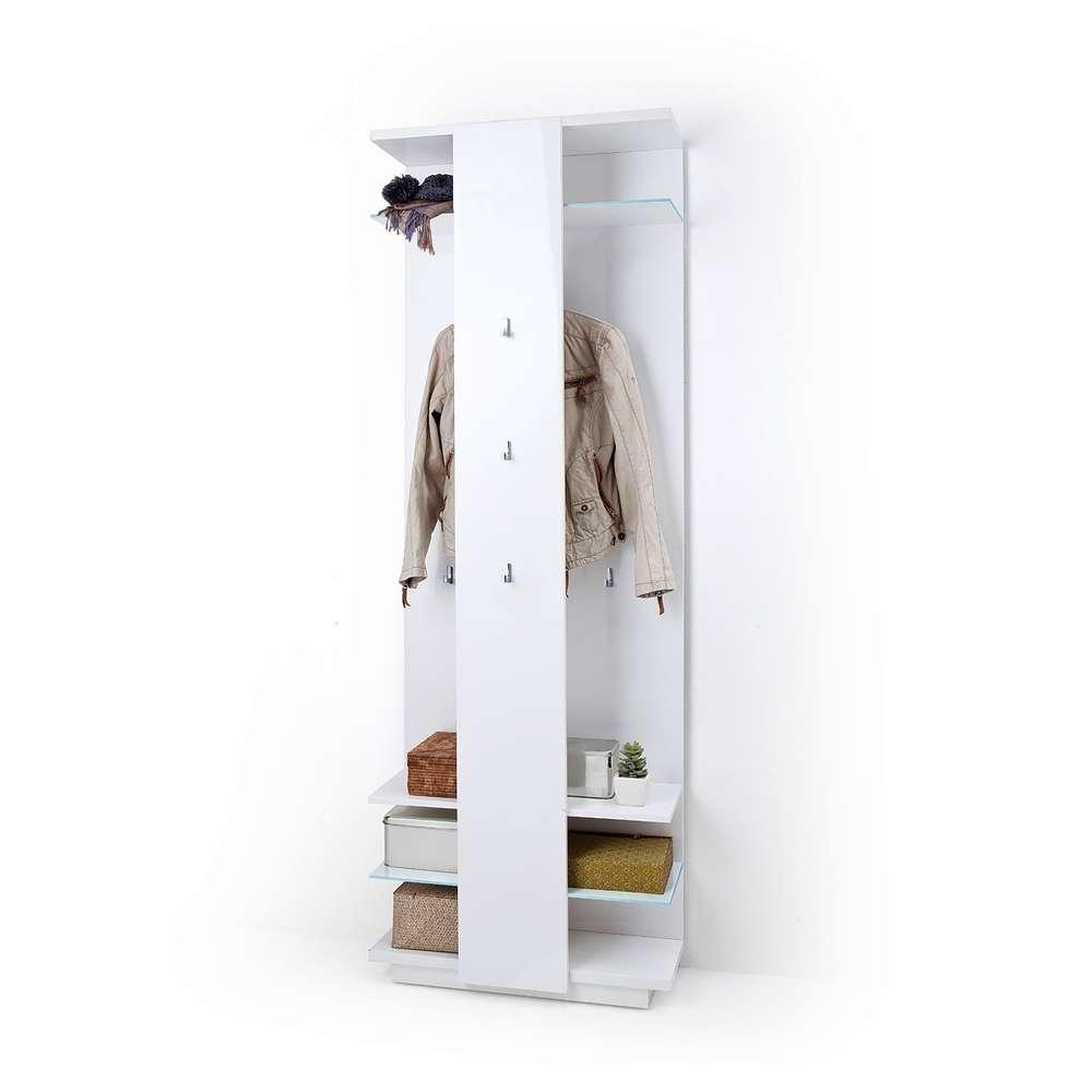 Entrata moderna Gea, mobile ingresso attaccapanni guardaroba