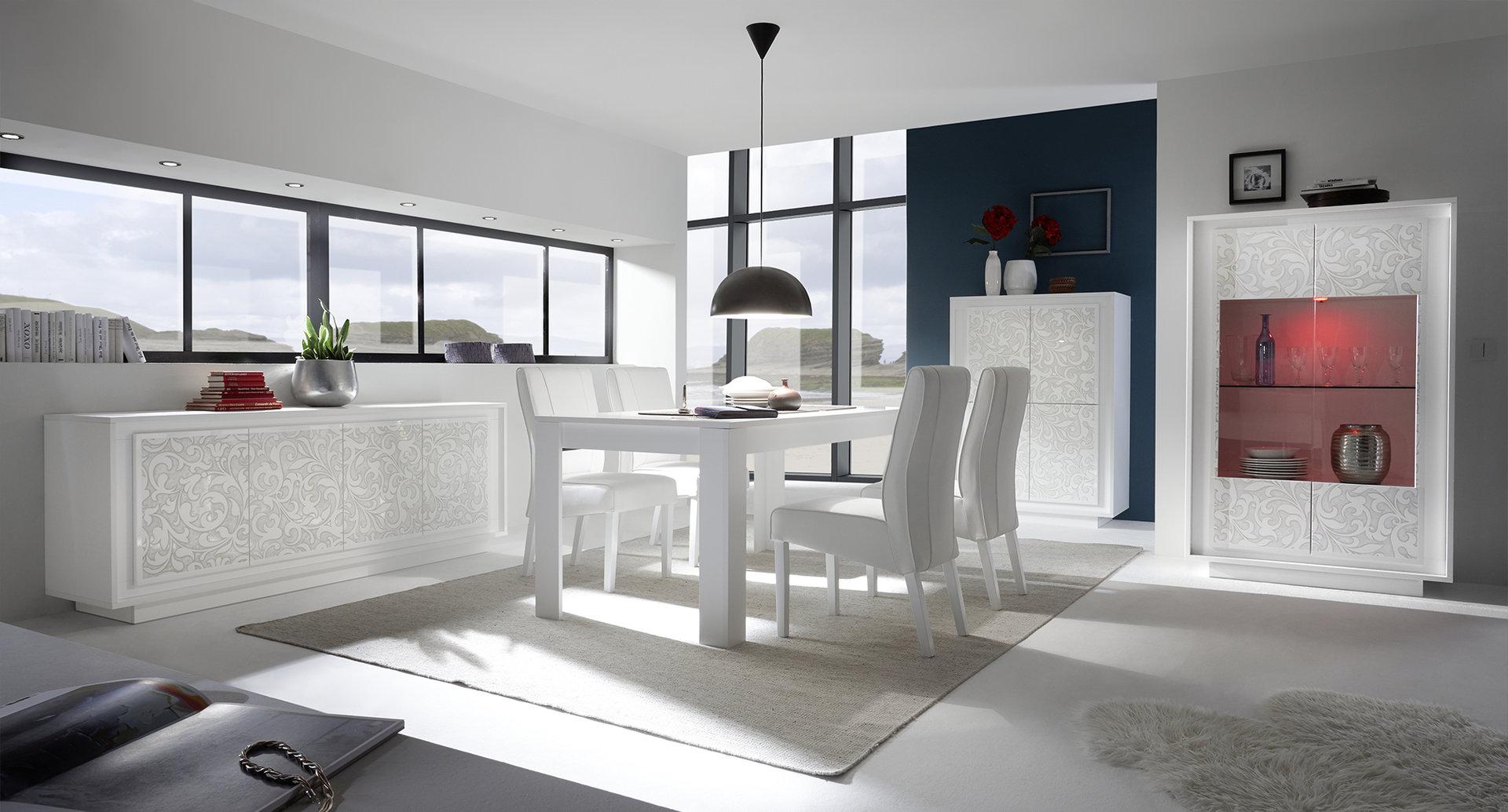 Amazing madia moderna dolce mobile unico e bianco design colori with mobili soggiorno particolari - Mobili particolari per soggiorno ...