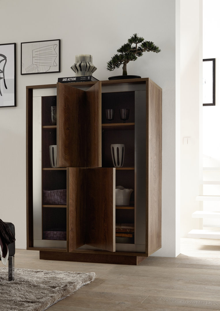 Credenza moderna Dolce, mobile soggiorno sala da pranzo