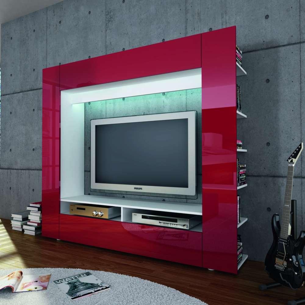 Parete Mobili Porta Tv Design.Porta Tv Grande King Parete Soggiorno Mobile Per Tv In 5 Colori