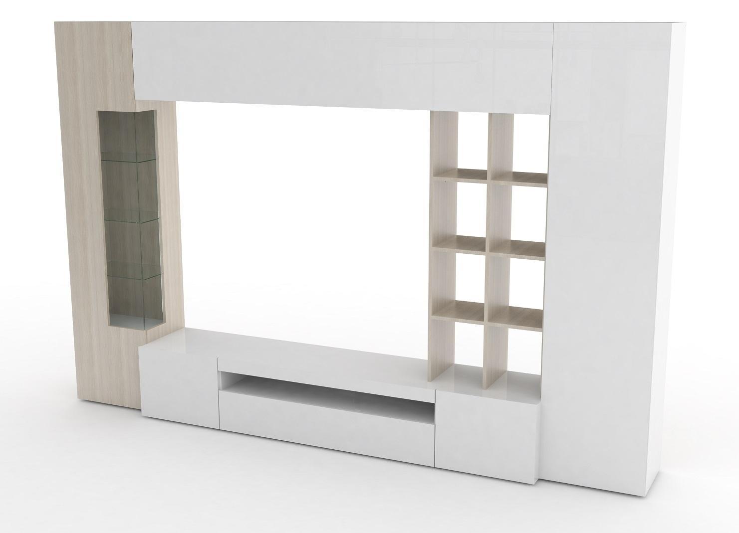 Soggiorno moderno parigi mobile porta tv composizione parete for Mobile design soggiorno