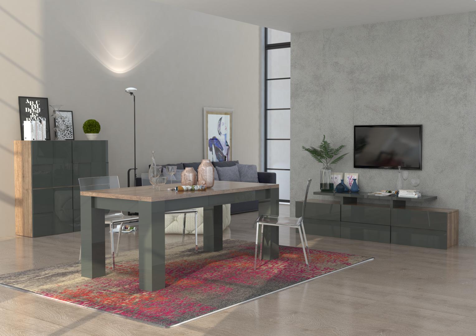 Credenza moderna canada mobile soggiorno sala da pranzo for Mobile moderno sala