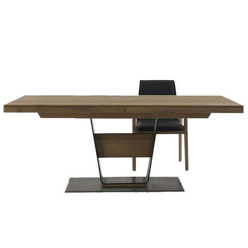 Tavoli allungabili arredions - Tavolo allungabile in legno massiccio ...
