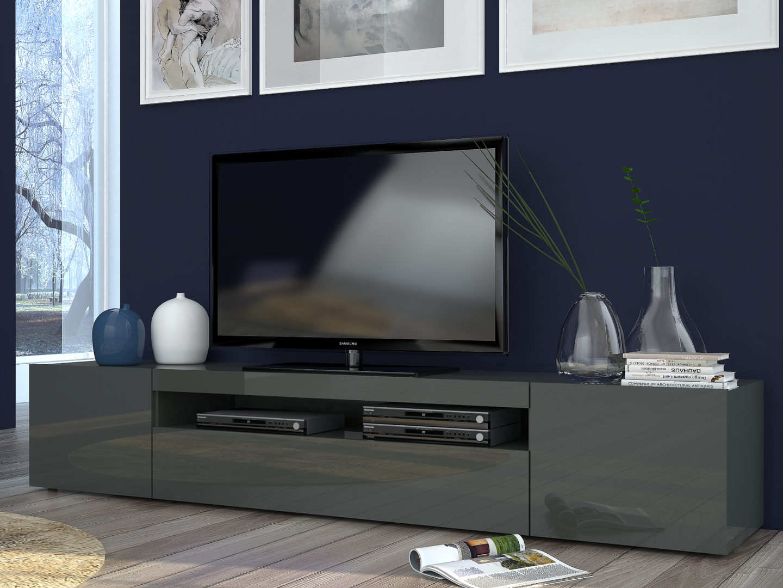 Porta tv moderno mojito mobile soggiorno in 2 misure e 2 for Mdf mobili soggiorno