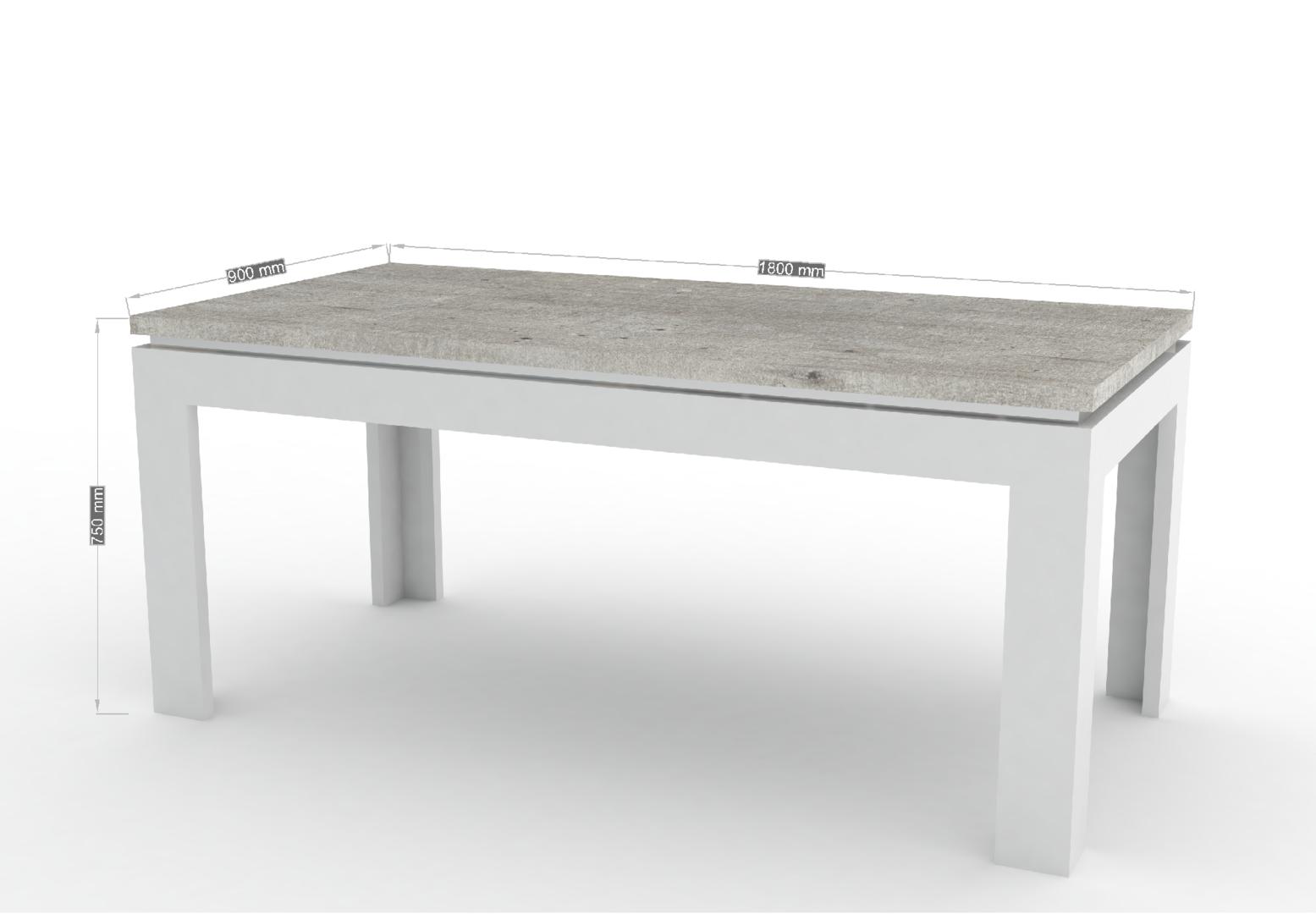 Tavolo moderno bianco messico mobile per sala da pranzo for Tavolo da cucina usato