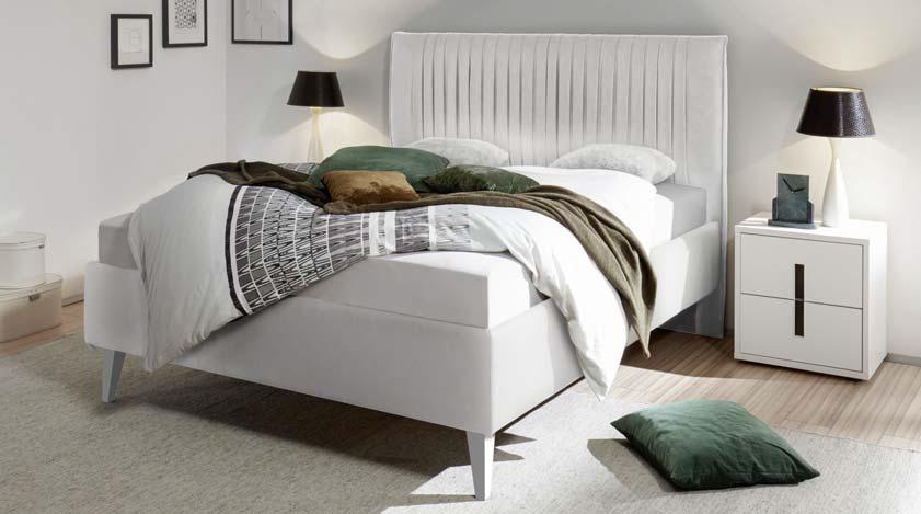 Camera da letto completa bianca luna letto armadio com comodini - Camera da letto moderna completa ...