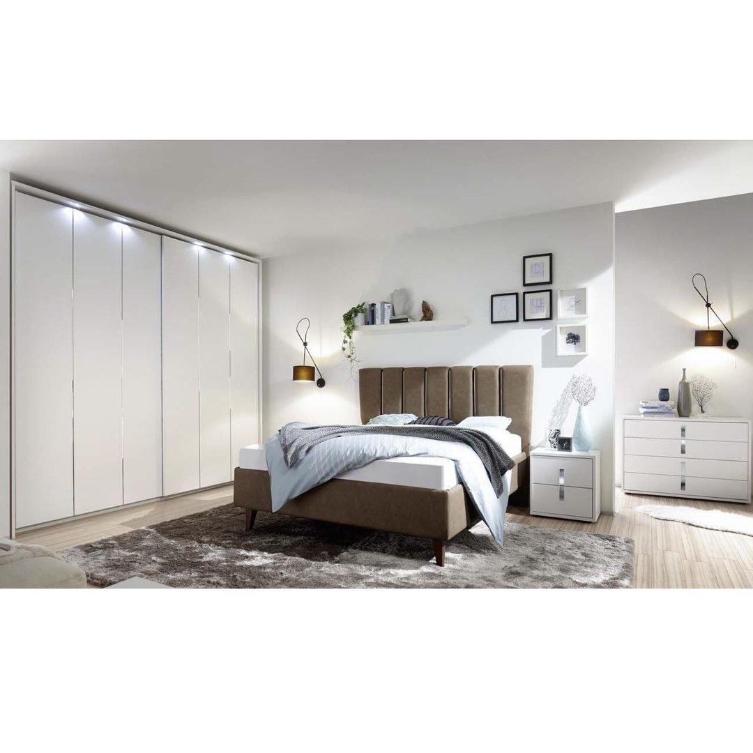 Camera da letto completa cometa mobili moderni letto armadio for Mobili moderni camera da letto