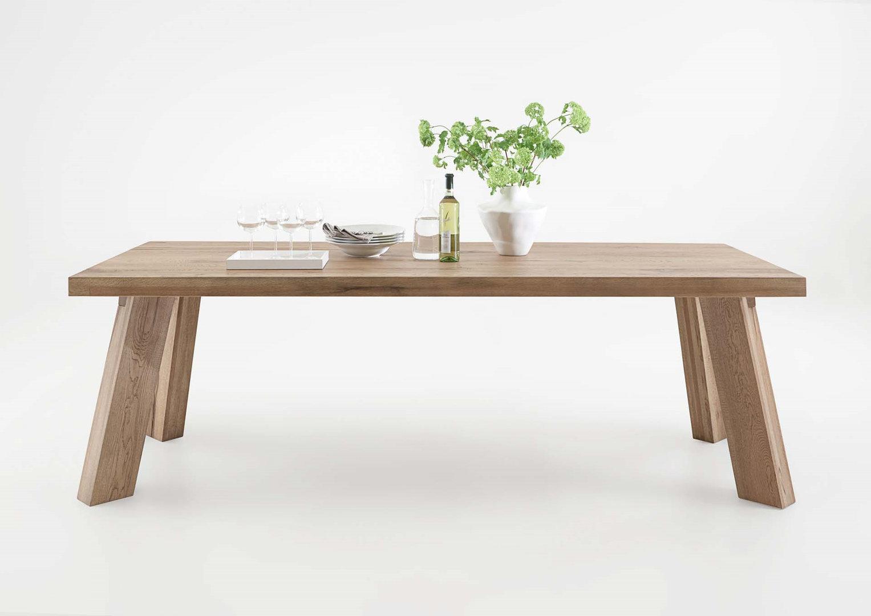 Tavolo da pranzo Monviso, mobile legno massiccio, design ...