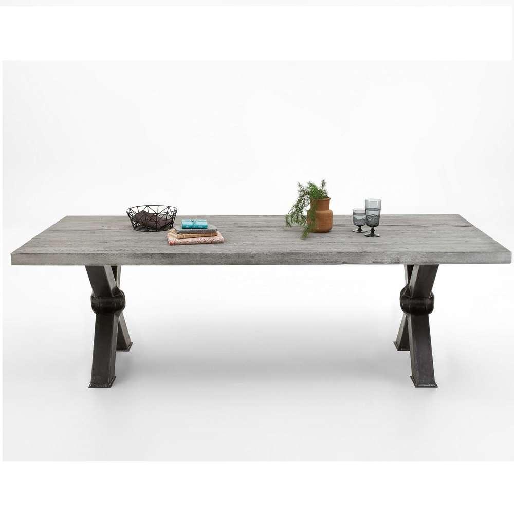 Dimensioni Tavolo Sala Da Pranzo tavolo massiccio cervino, mobile in legno per sala da pranzo
