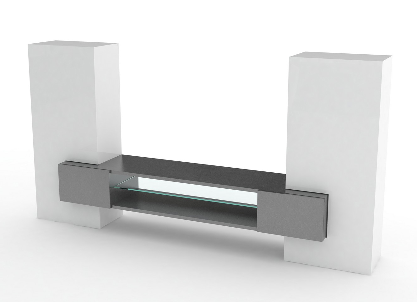Soggiorno moderno luing jo mobile bianco composizione design for Composizione soggiorno moderno