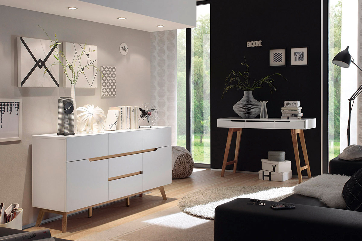 Credenza Moderna Corridoio : Madia moderna alce mobile soggiorno camera corridoio