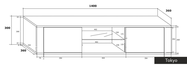 Porta tv moderno tokyo in 5 colori design mobile soggiorno for Mobile da soggiorno moderno