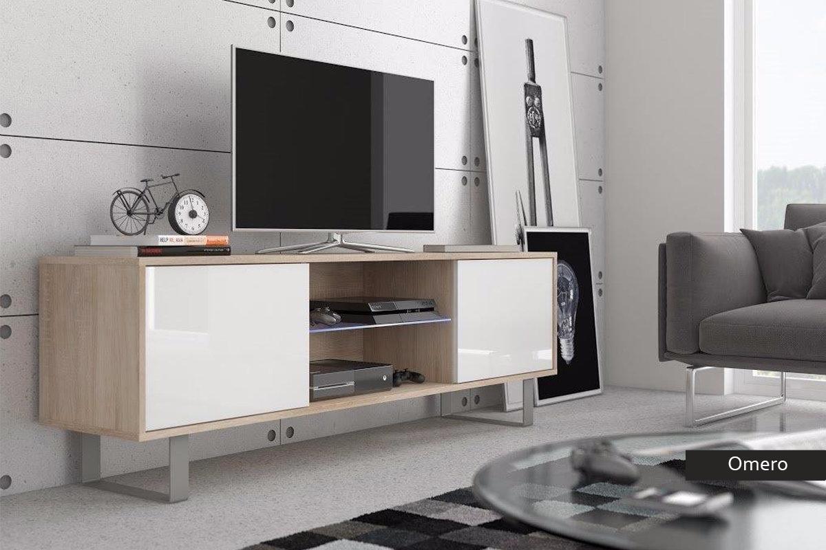 Mobile per tv moderno omero porta tv in 5 colori portatv - Mobile tv moderno ...