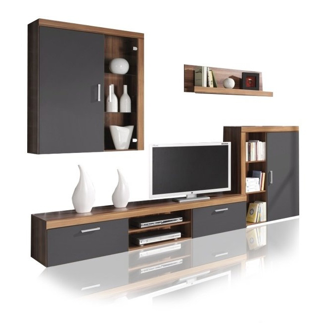 Composizione soggiorno amico mobile parete porta tv in 4 for Composizione soggiorno moderno